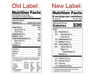 New Nutrition Labe