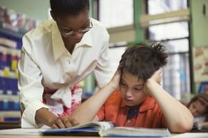 Teacher-Helping-Student