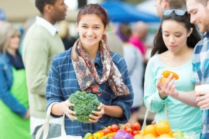 People-At-Farmers-Market